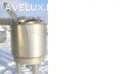 Емкость нержавеющая, объем — 0,65 куб.м., вертикальная