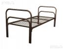 Кровати металлические одноярусные и двухъярусные для пансион