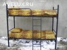 Одноярусные металлические кровати, двухъярусные кровати опт