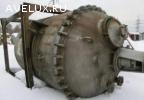Реактор эмалированный, объем — 6,3 куб.м., рубашка, мешалка,